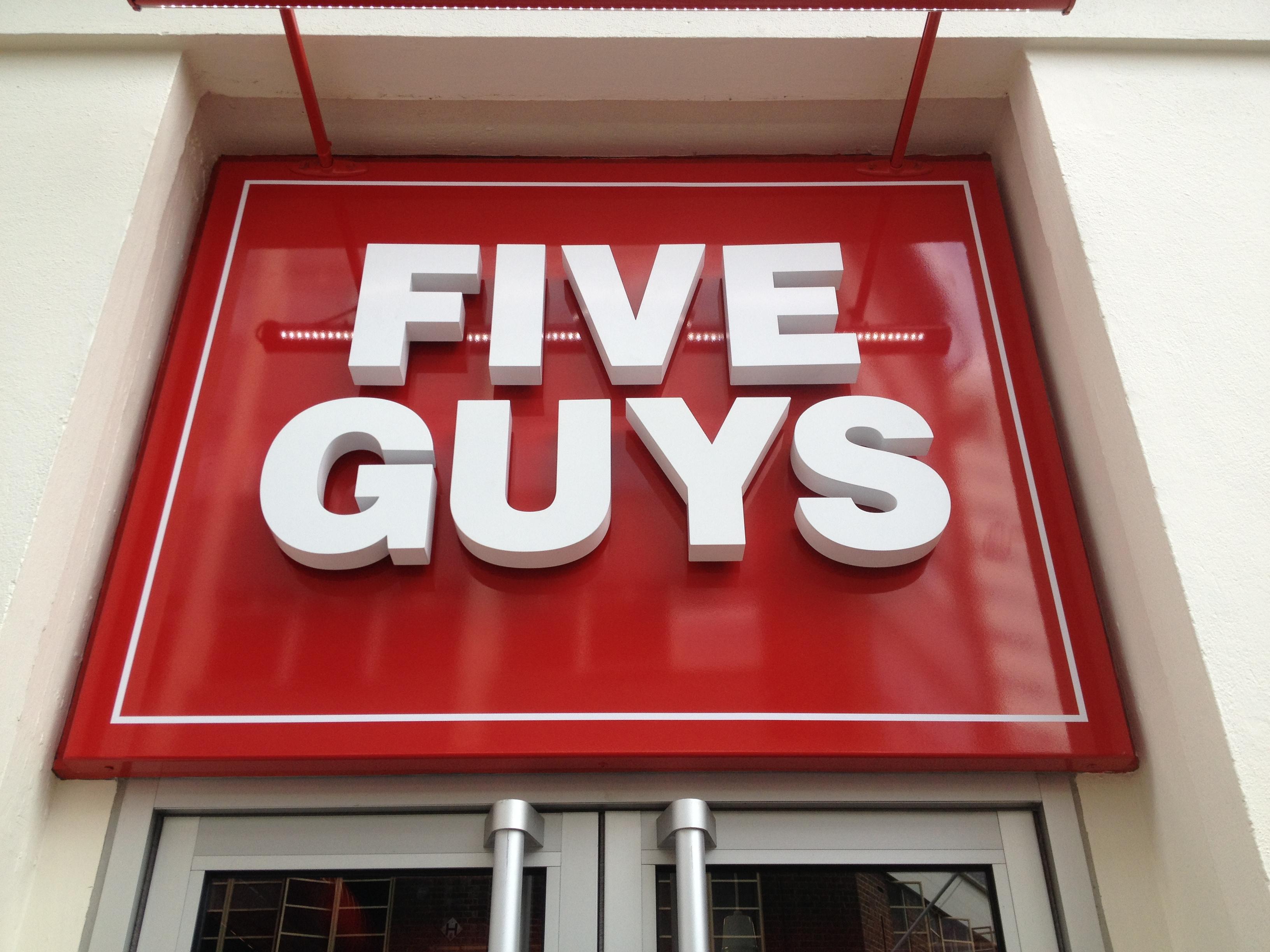 Five guys coupons june 2018